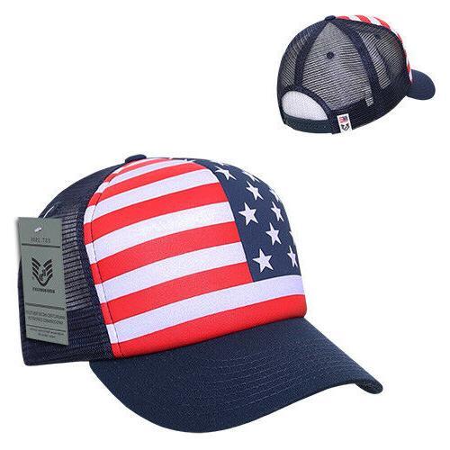 Rapid Flag Mesh Trucker Caps Hats