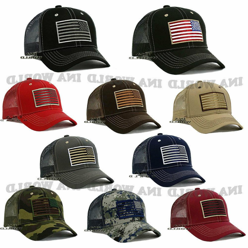 usa american flag hat tactical military snapback