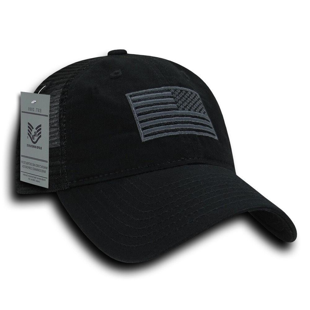 Rapid Freedom Patriotic Military Relaxed Fit Cap