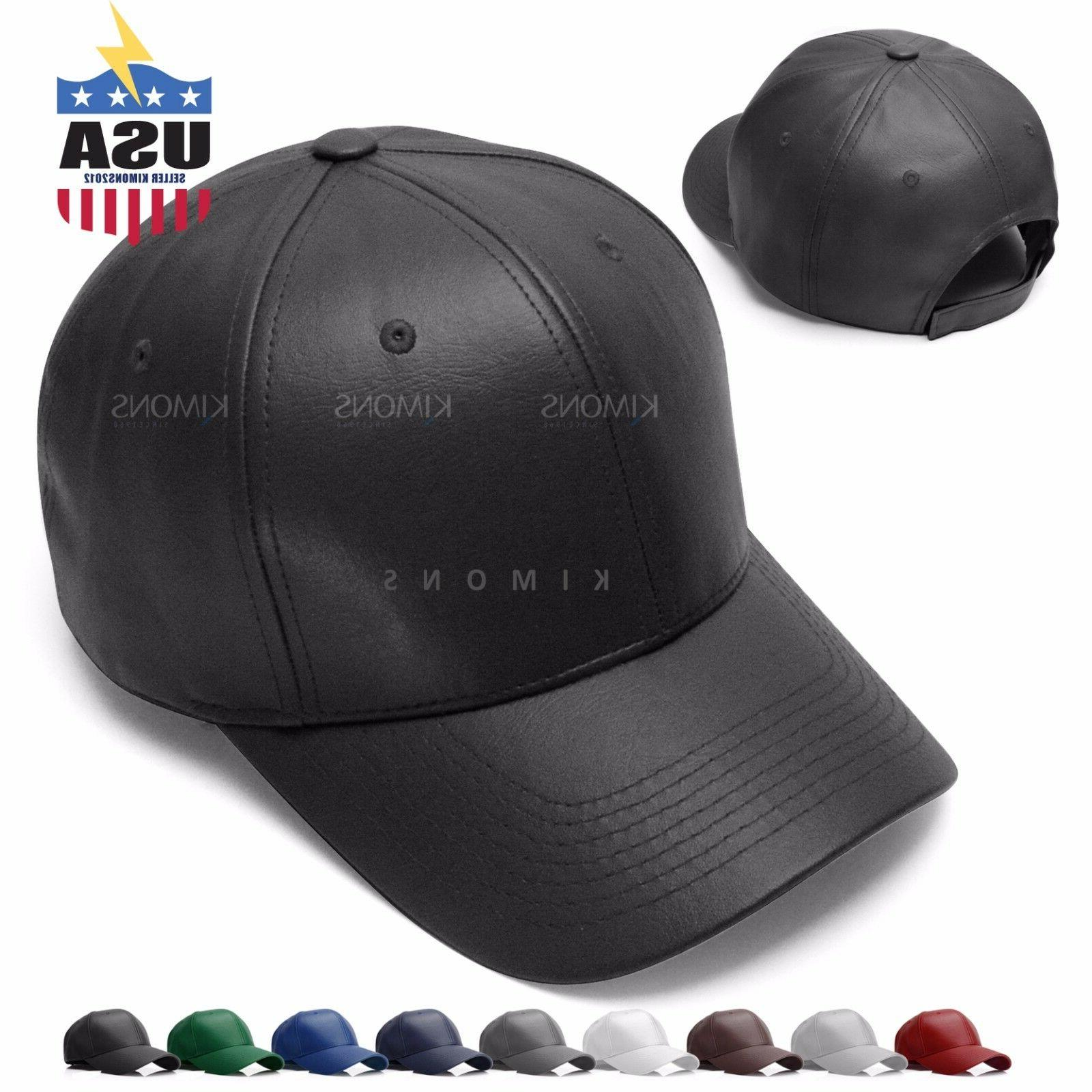 v adjustable solid leather classic unisex trucker
