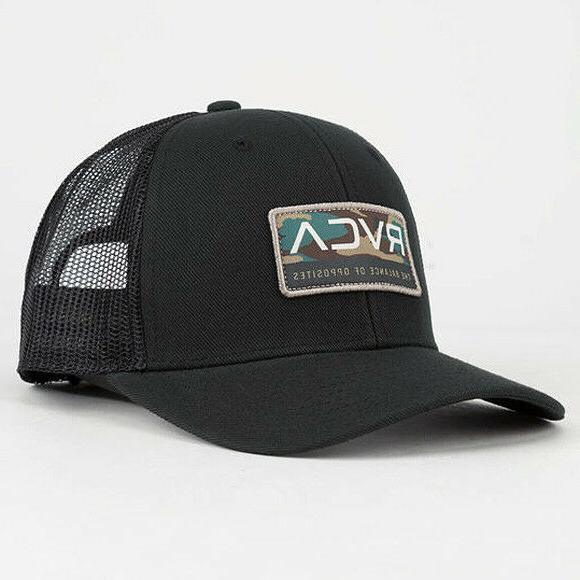 0a21b096ca341 RVCA VA Reno Trucker Hat Cap Snapback Skate Surf ruca - New