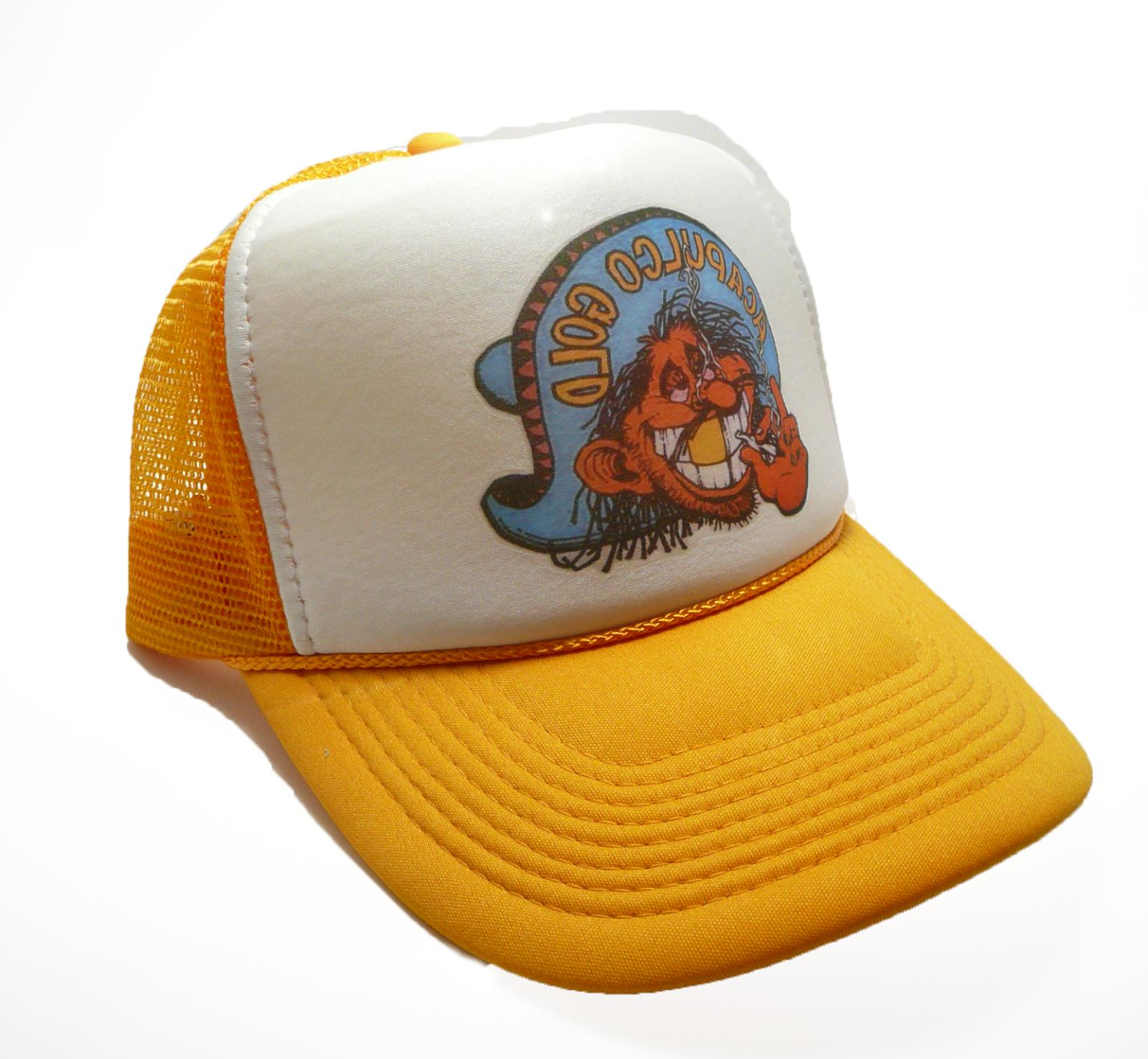 vintage 80 s acapulco gold hat trucker