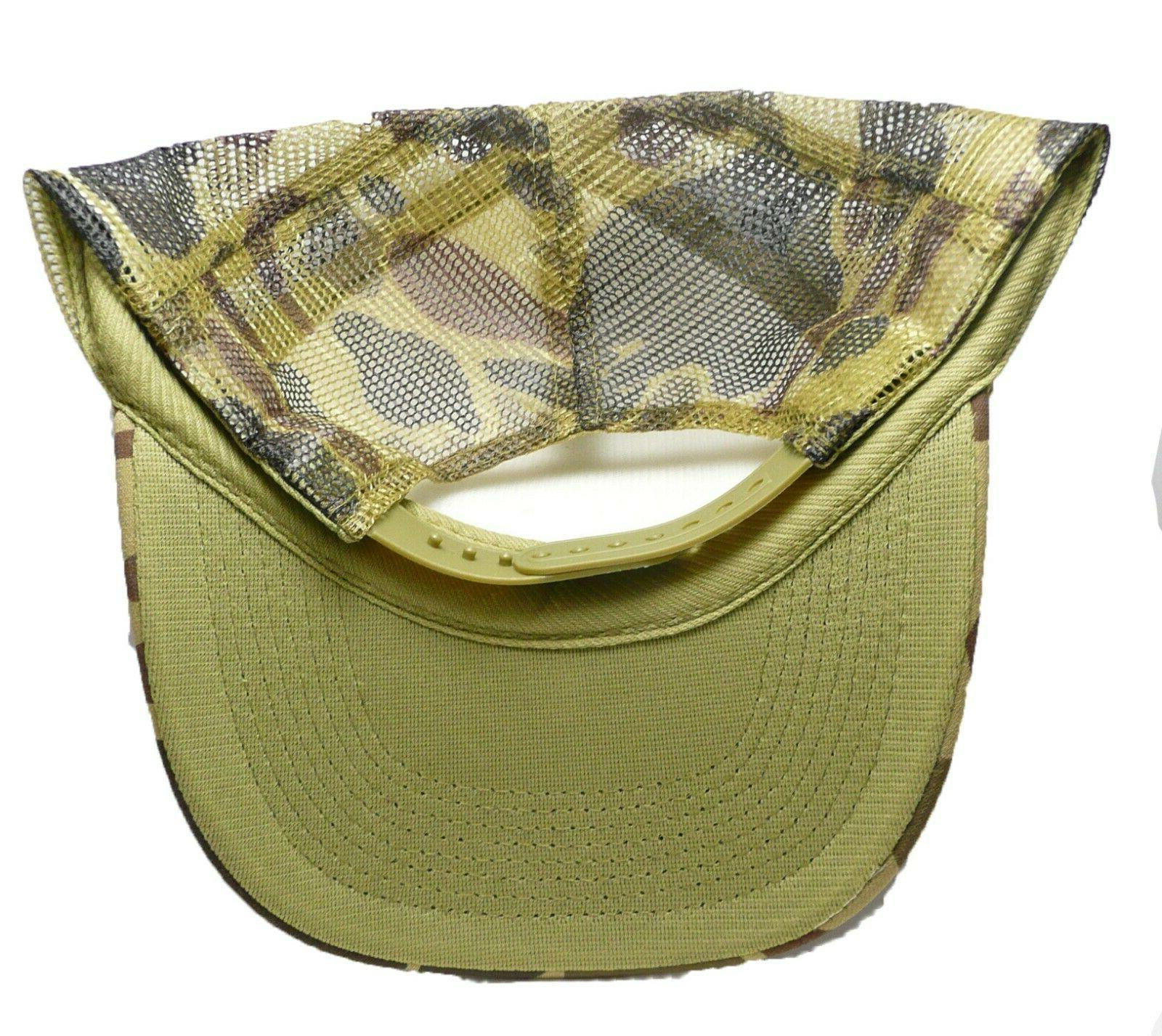Vintage trucker Green Camouflage new