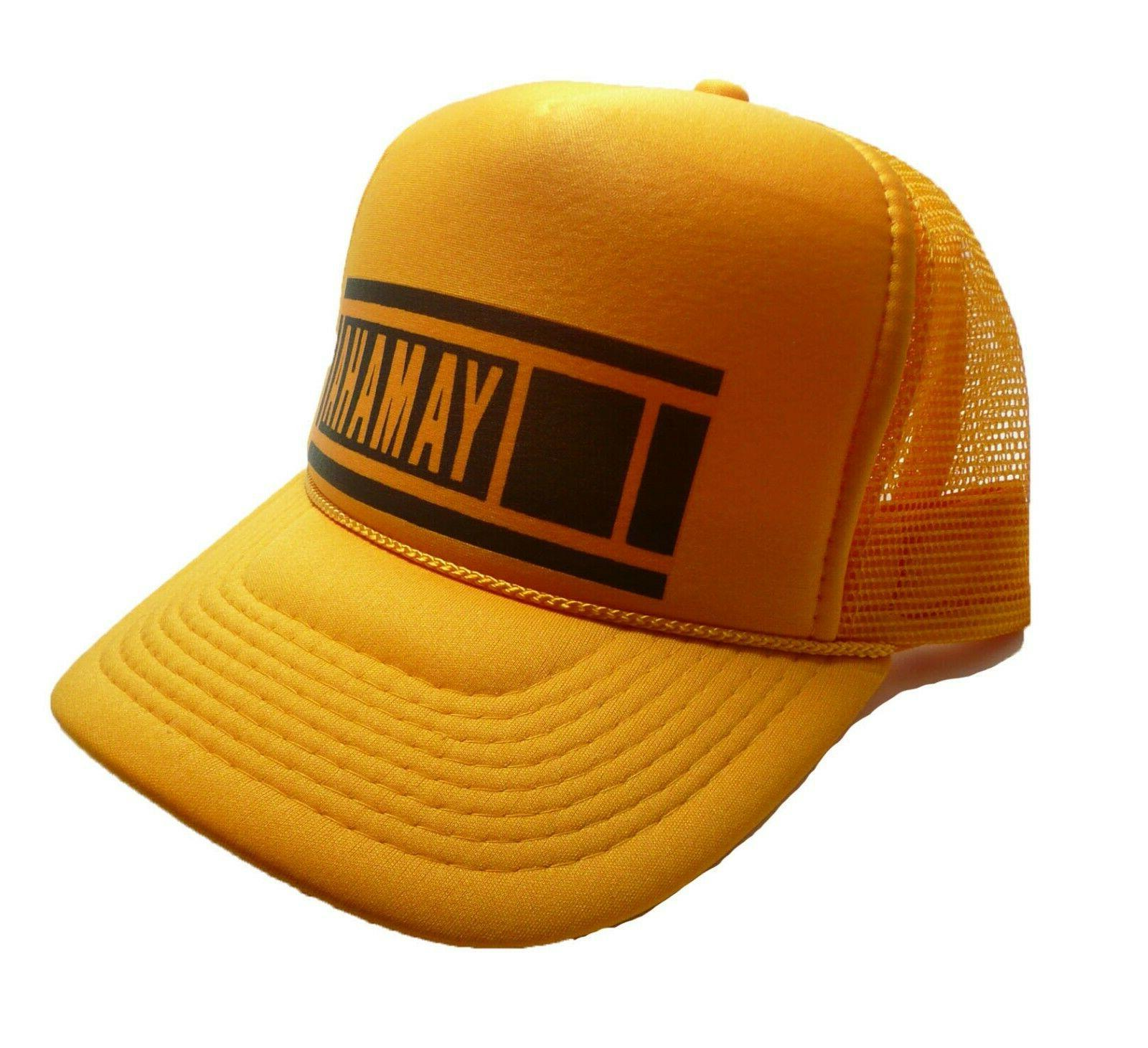 Vintage Yamaha 80's Trucker hat cap New