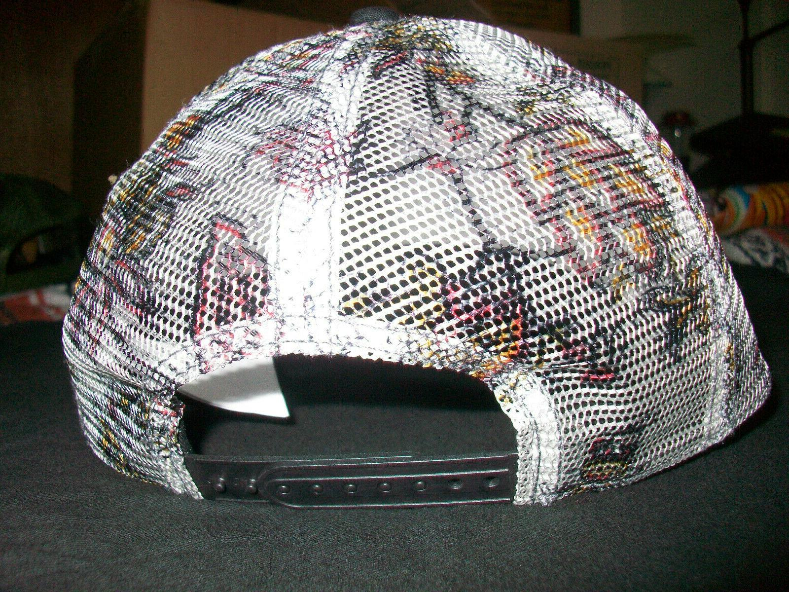PrAna Vista Trucker Hat, Floral Print, Black