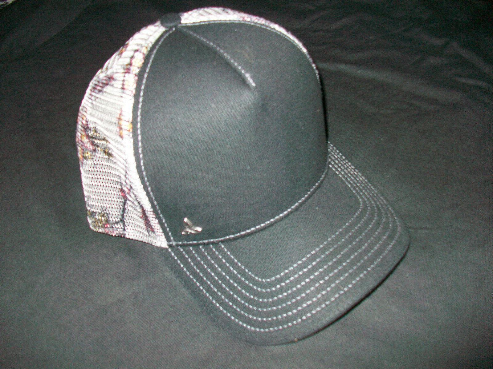 vista mens mesh trucker hat organic cotton