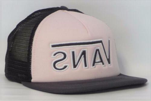 Vans Off The Wall Drop V Womens Pale Pink Snapback Trucker H