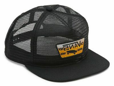 wall malted mesh trucker adjustable
