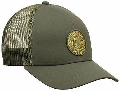 walled trucker hat olive new