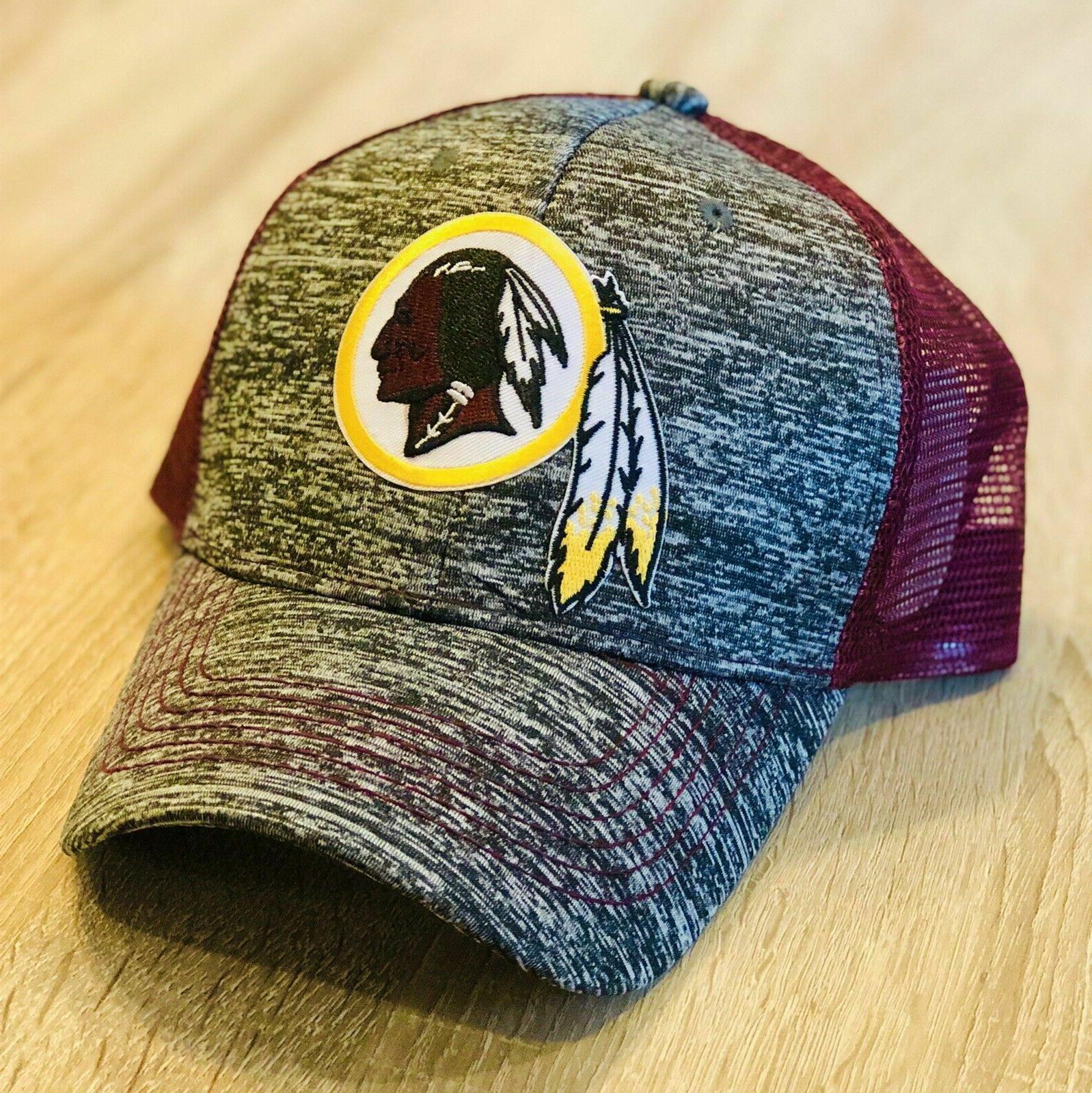 washington redskins trucker hat patch style 2