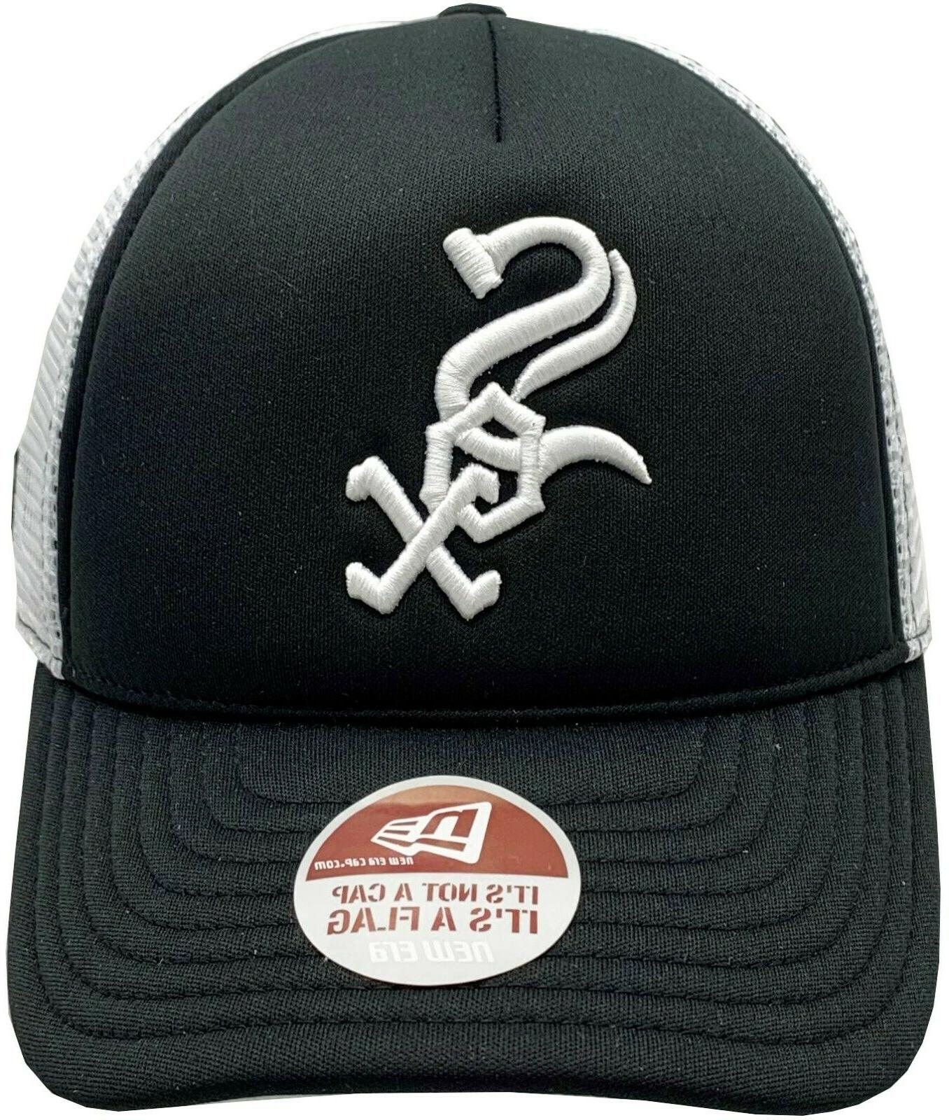 White Sox Trucker Fitted