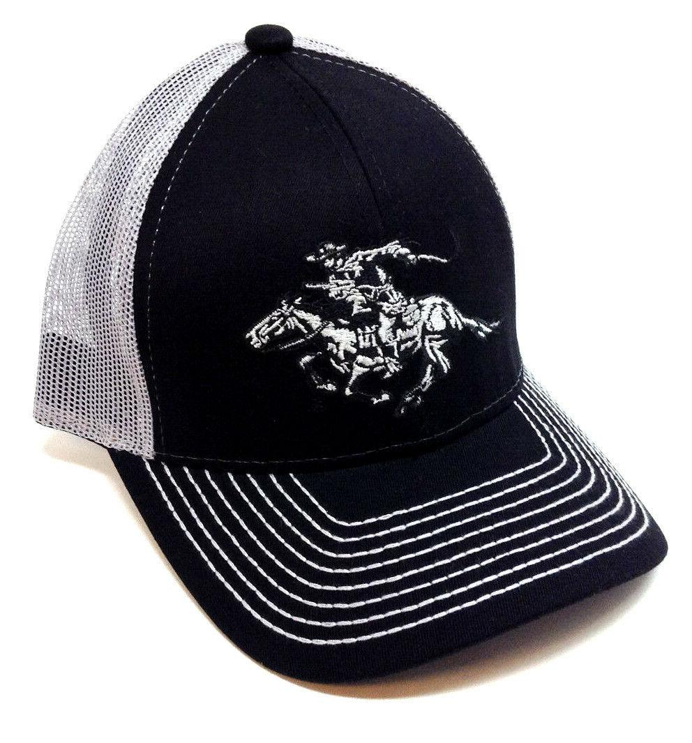 winchester arms horse and rider logo curved