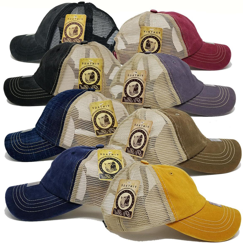 women men baseball hat cap pigment washed