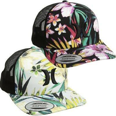 women s floral garden trucker hat cap