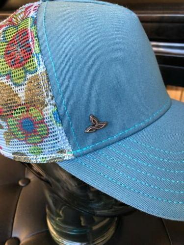Womens PRANA Idalis Hat/Cap Yoga Teal, NWOT