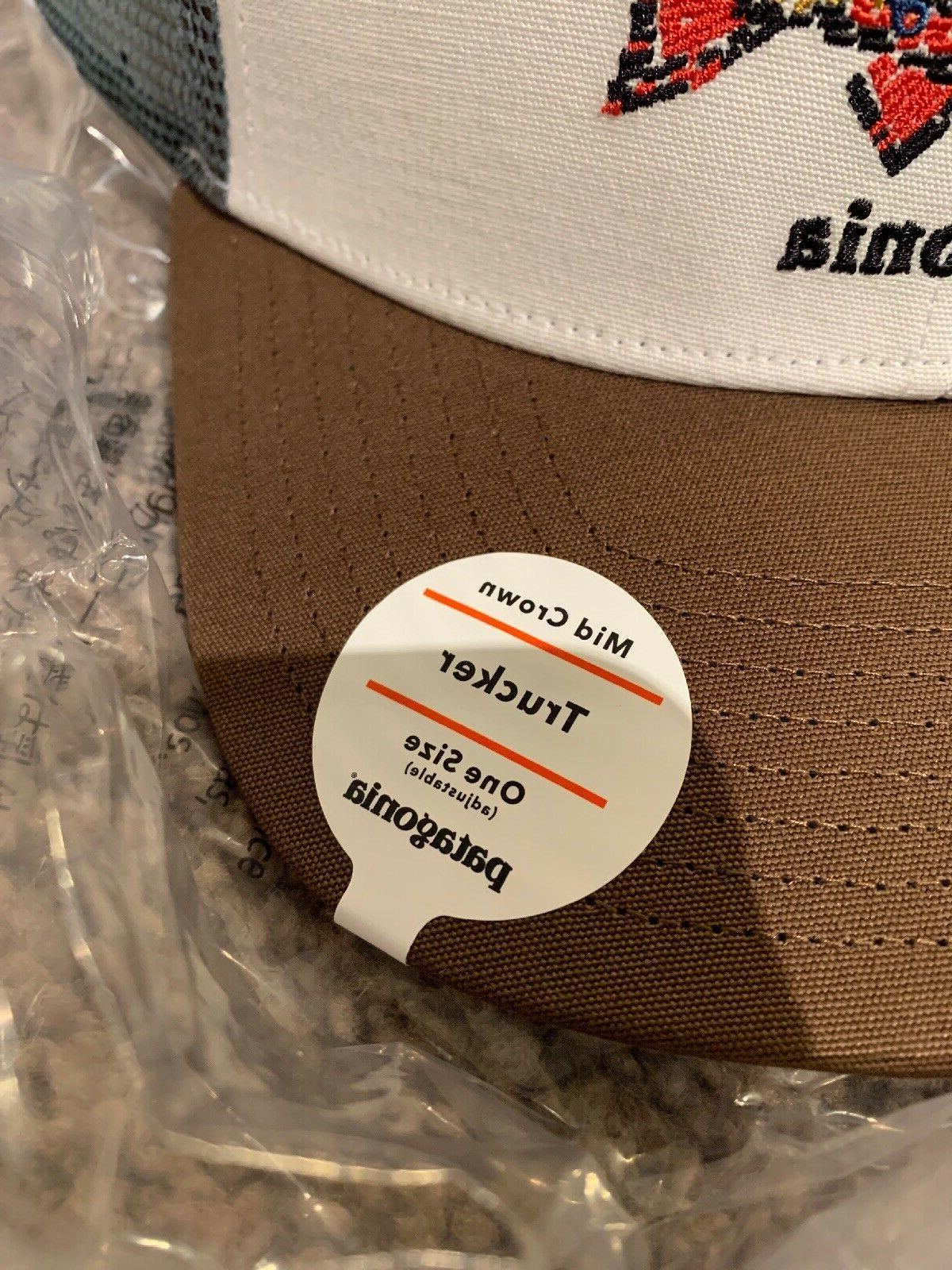 Patagonia Fish Trucker Mid Fit Forge Gray NWT