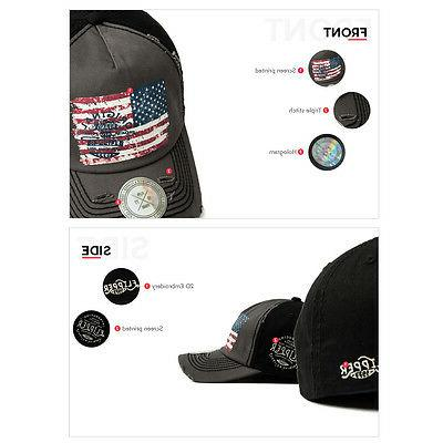 XL~2XL 60~63Cm Flipper Ripped Baseball Hat