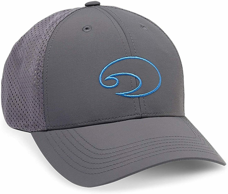 COSTA DEL MAR XL STRUCTURED PERFORMANCE TRUCKER HAT CAP NAVY