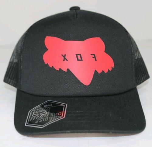 Fox Trucker Hat Black Snapback $25