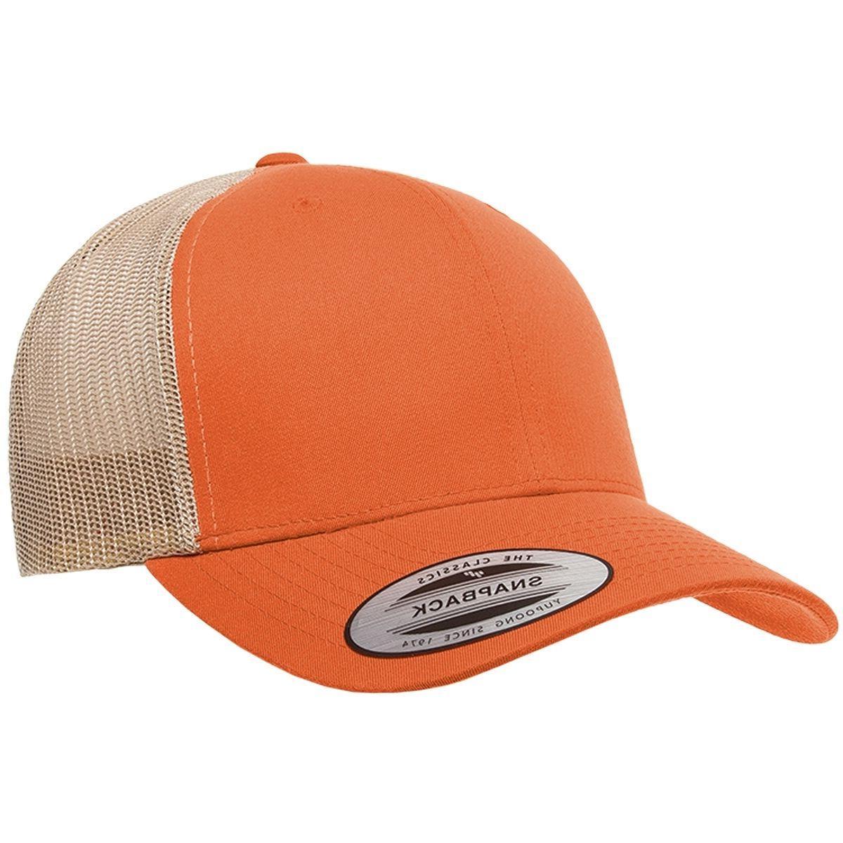 Yupoong Cotton Trucker Cap Snapback Hat 6606MC