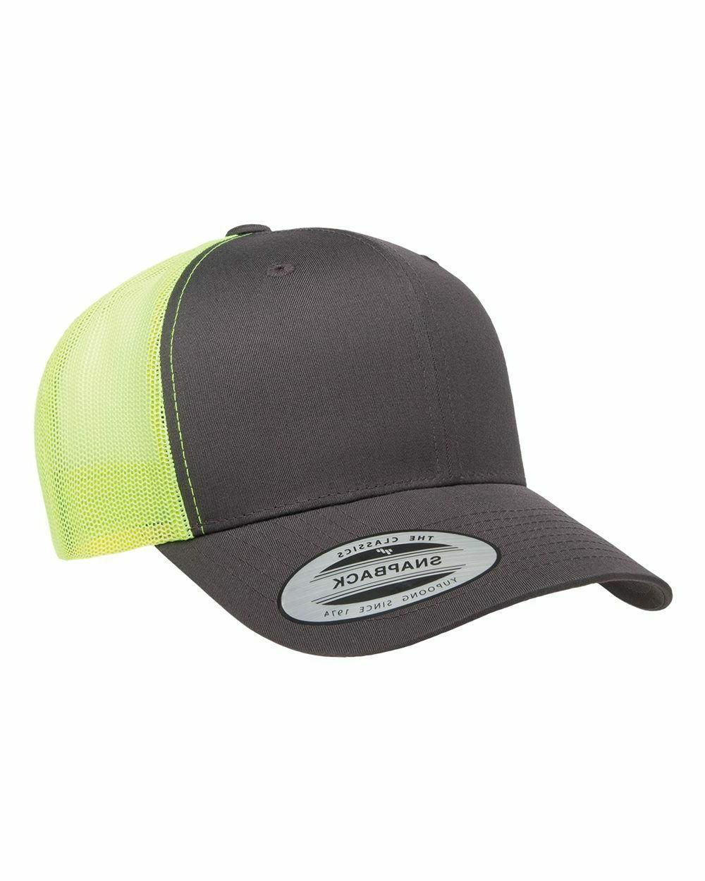 Yupoong Classic Blank Cotton Snapback Hat 6606MC & 6606T