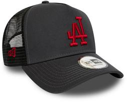 LA Dodgers New Era MLB League Essential A-Frame BlackTrucker