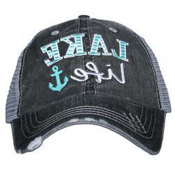Katydid Lake Life Women's Trucker Hat