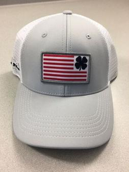 Black Clover Live Lucky American Flag Adjustable Trucker Hat