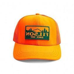 FILSON 11030237 Logger Patch Mesh Back Ten-Mile Cloth Blaze