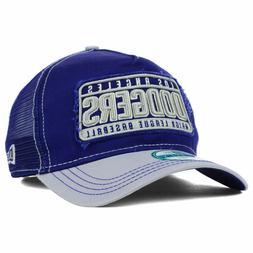 Los Angeles Dodgers New Era MLB Trip Trucker Mesh Adjustable