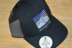 patagonia low crown lopro trucker hat cap OSFA line lodge ri