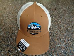 Patagonia Low Crown Trucker Hat Earthworm Brown Snapback NWT