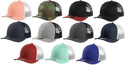 New Era Low Profile Trucker 9FIFTY Mesh Snapback Hat Cap Bla