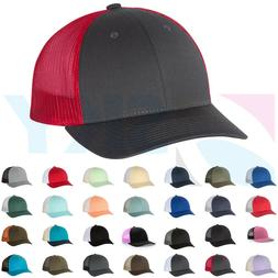 low profile trucker ball cap meshback hat