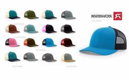 low profile trucker hat snapback visor structured