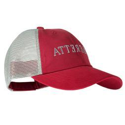 Beretta LP Trucker Hat Cotton Mesh Back Crimson/Grey BC05201
