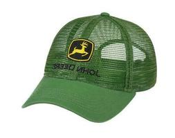 LP69037 John Deere Licensed Green Trucker Soft Mesh Hat / Ca