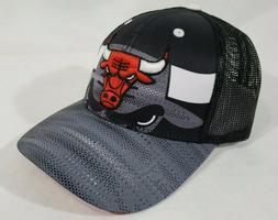 LZ Adidas Adult One Size Chicago Bulls NBA Snap Back Trucker