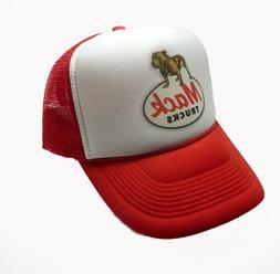 Mack Trucks Hat Original trucker hat adjustable snapback bul