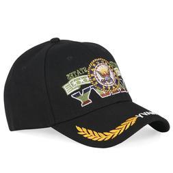 Men'S Baseball Cap America Navy Black Hip Hop Caps Embroider