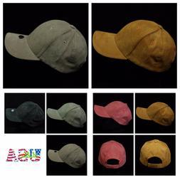 Men's Baseball Cap Fashion Hat Trucker Suede Caps Casual Sol