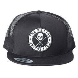 men s boh trucker snapback hat black
