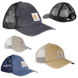 Carhartt Men's Cap Trucker Cap Buffalo Hat Adjustable Size N