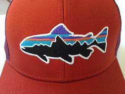 🆕Patagonia Men's Fitz Roy Trout Trucker Hat Cap Snapback