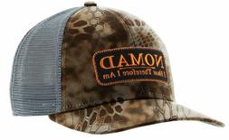 Nomad Men's Hunting Patch Hat Banshee Brown Gray OSFA Mesh T