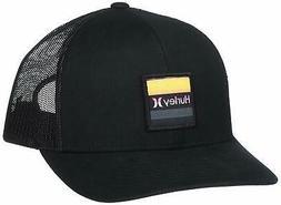 men s overspray trucker hat cap black