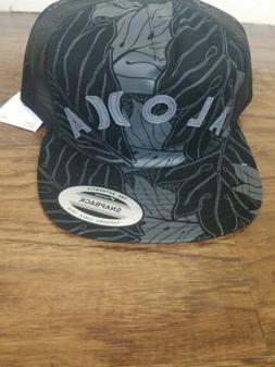 Hurley Men's Sig Zane Ululoa Trucker Hat Cap - Black