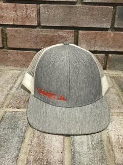 Adidas Men's Terrex Snap Back Trucker Cap NWOT Mesh Gray Whi