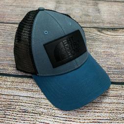 The North Face Men's Trucker Mesh Baseball Cap Hat Navy Blue