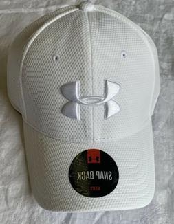 Under Armour Men's UA Trucker Hat Adjustable Size White Snap